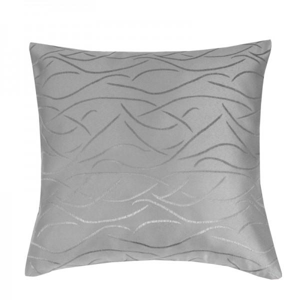 Kissenhülle Streifen Sofa Kissen Deko in Grau
