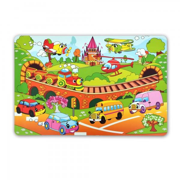 Tischsets Platzsets 30x45 cm Kinderland-Motiv im 4er Set