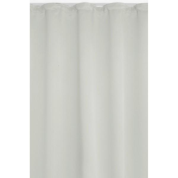 Vorhang Gardine Blickdicht Dekoschal Kräuselband in Weiss
