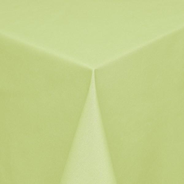 Tischdecken Modena Baumwolle mit Teflon-Fleckschutz in Hell-Grün