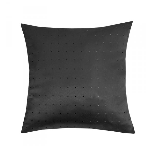 Kissenhülle Punkte Sofa Kissen Deko in Schwarz