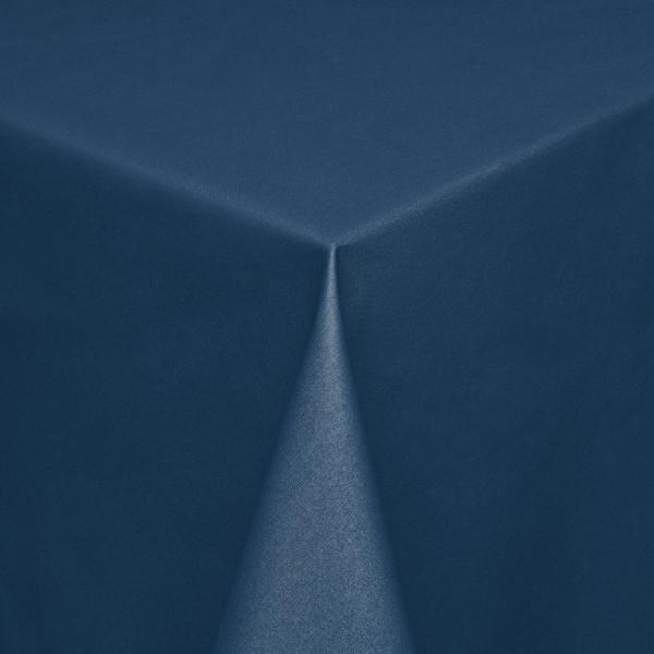 Tischdecken Modena Baumwolle mit Teflon-Fleckschutz in Blau
