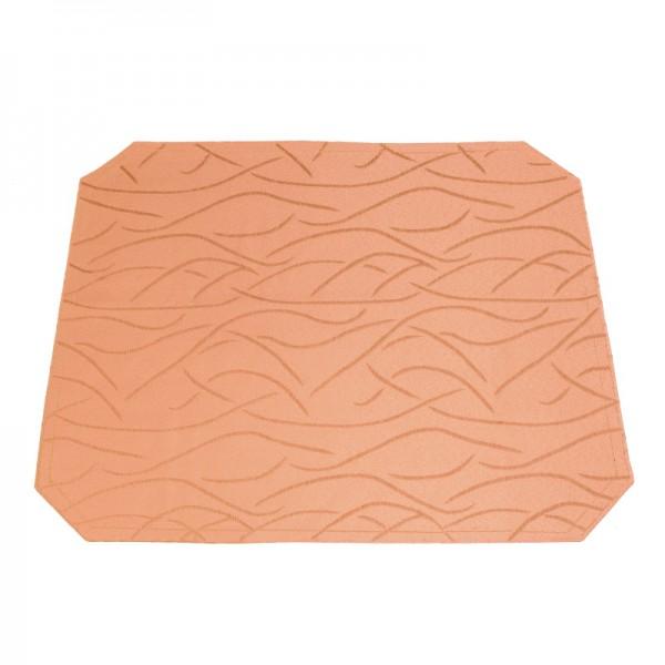 Tischsets Platzsets Streifen 40x50 cm in Apricot