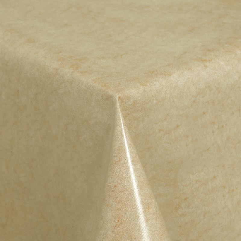 tischdecke abwaschbar wachstuch beige im wunschma. Black Bedroom Furniture Sets. Home Design Ideas