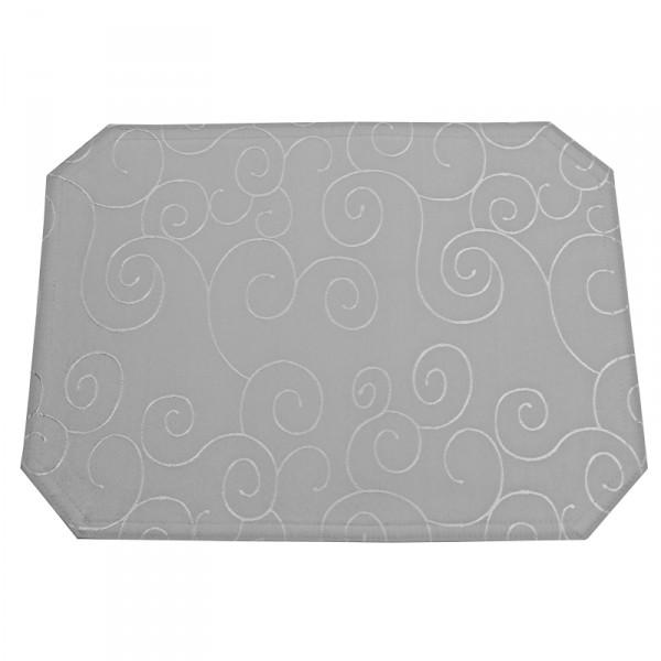 Tischsets Platzsets Ornamente 40x50 cm in Grau