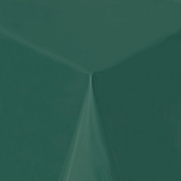 Tischdecke Abwaschbar Wachstuch Lebensmittelecht einfarbig Dunkel-Grün