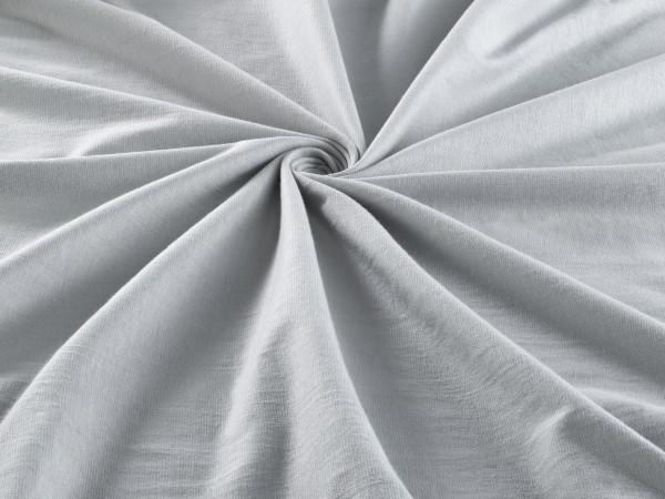 Spannbetttuch Jersey Stretch Steghöhe 28cm Spannbettlaken in Grau