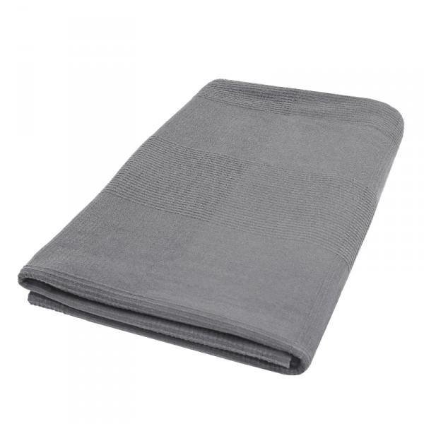Tagesdecke Bettüberwurf Sofaüberwurf Baumwolle in Grau