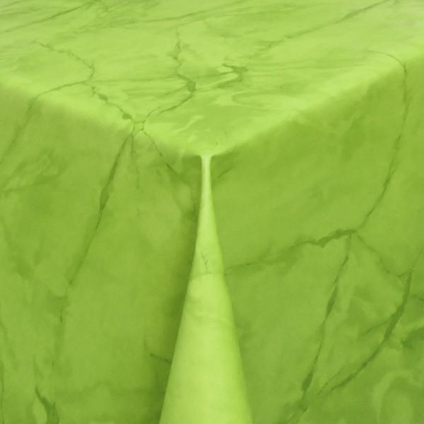 Tischdecke Abwaschbar Wachstuch Lebensmittelecht Marmor Grün