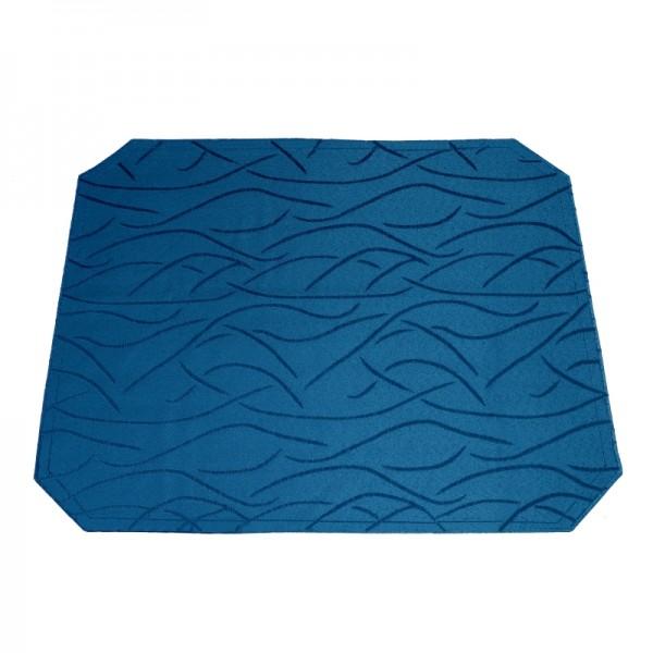 Tischsets Platzsets Streifen 40x50 cm in Dunkel-Blau