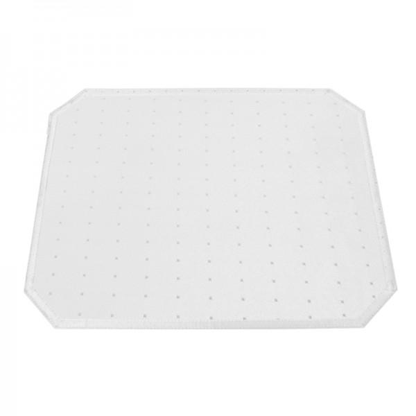 Tischsets Platzsets Punkte 40x50 cm in Weiss