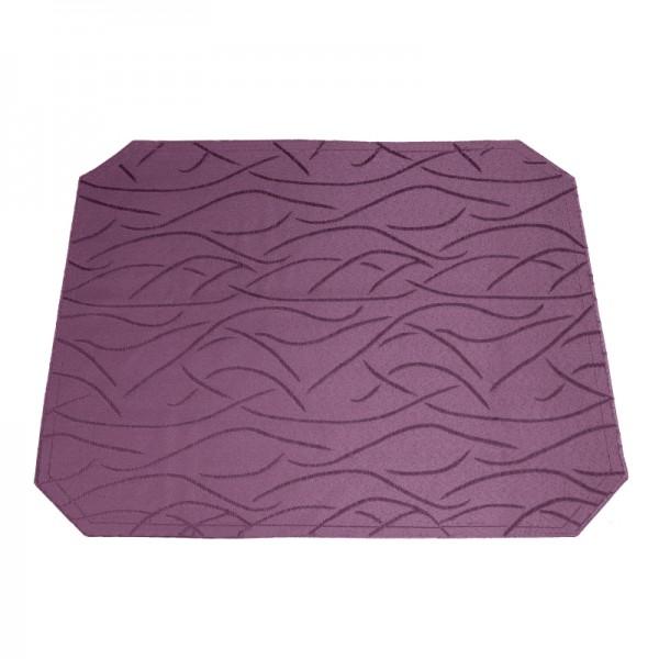 Tischsets Platzsets Streifen 40x50 cm in Lila