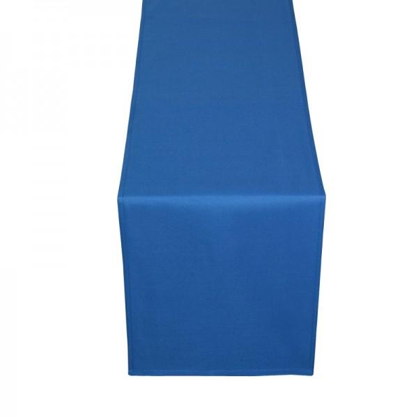 Tischläufer Tischband Uni in Dunkel-Blau
