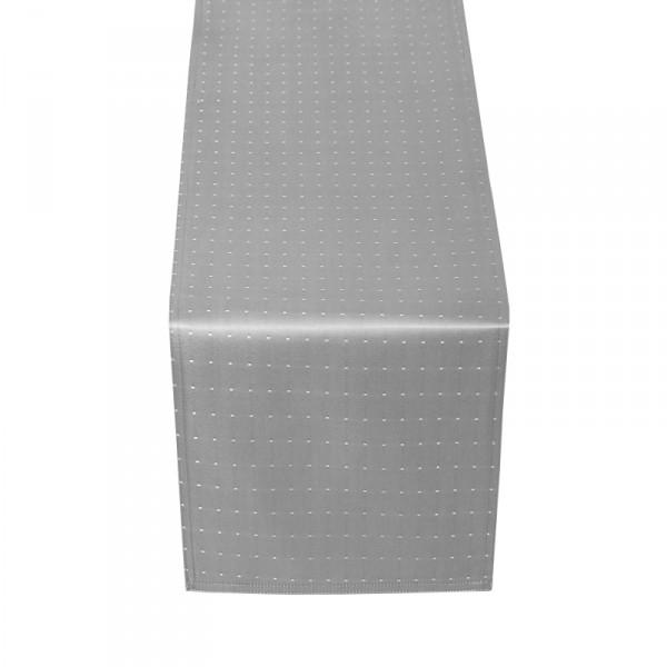 Tischläufer Tischband Punkte in Grau