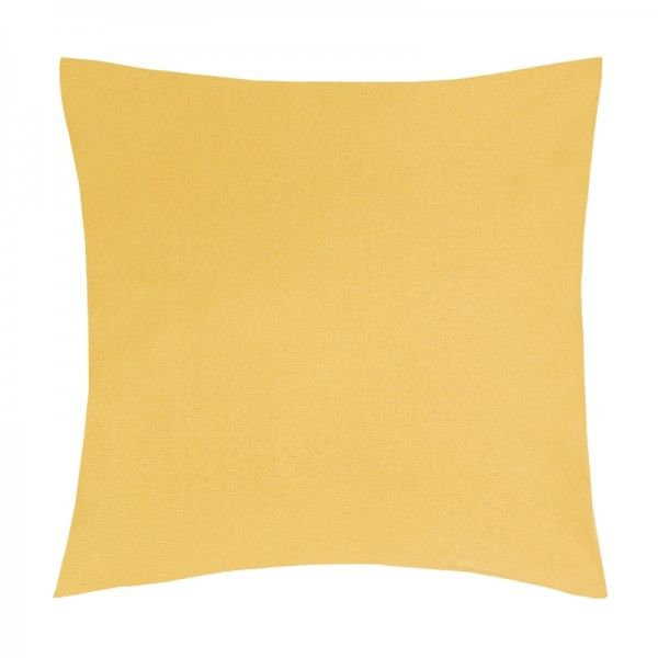 Kissenhülle Uni Sofa Kissen Deko in Dunkel-Gelb