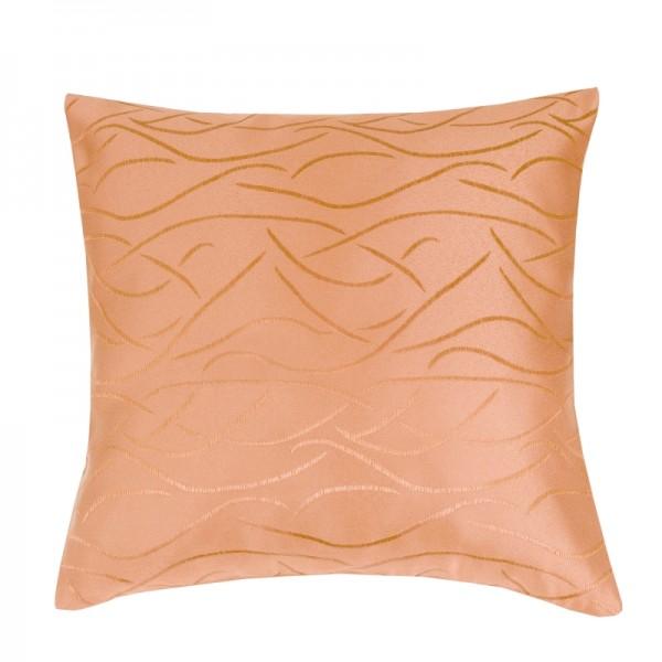 Kissenhülle Streifen Sofa Kissen Deko in Apricot