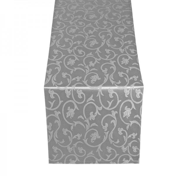Tischläufer Tischband Barock in Grau