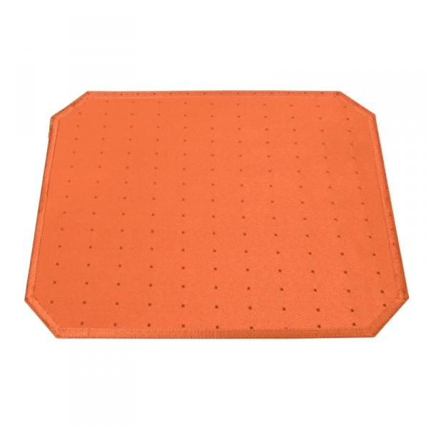 Tischsets Platzsets Punkte 40x50 cm in Orange