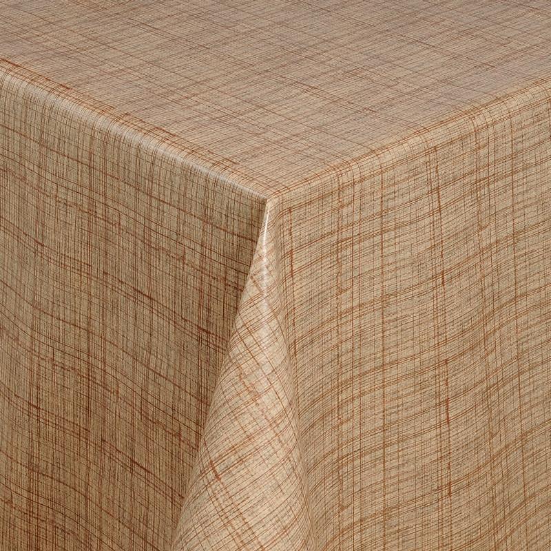tischdecke abwaschbar wachstuch linien motiv beige im wunschma. Black Bedroom Furniture Sets. Home Design Ideas