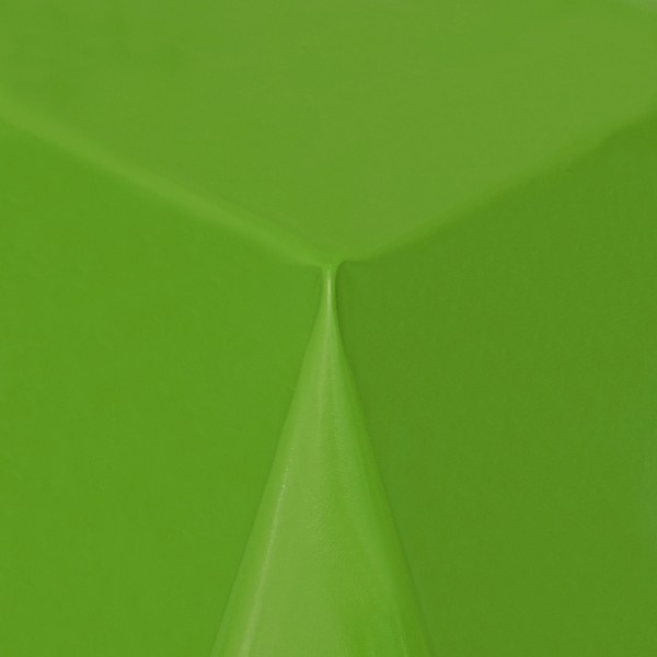 Tischdecke Abwaschbar Wachstuch Lebensmittelecht einfarbig Grün