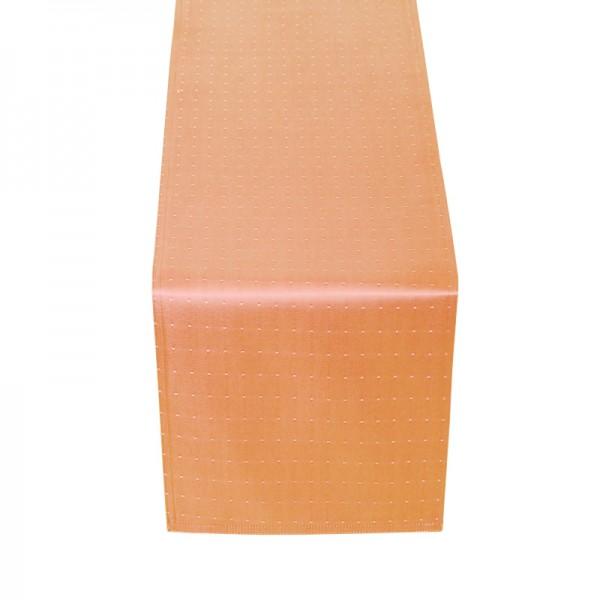 Tischläufer Tischband Punkte in Apricot