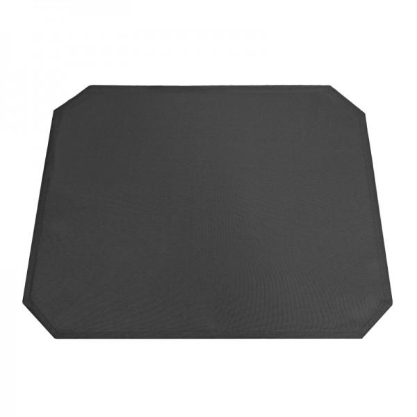 Tischsets Platzsets Uni 40x50 cm in Schwarz