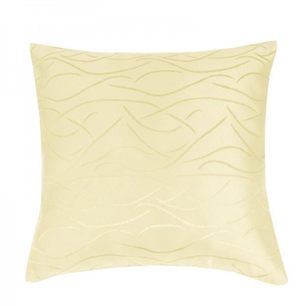 Kissenhülle Streifen Sofa Kissen Deko in Creme-Beige