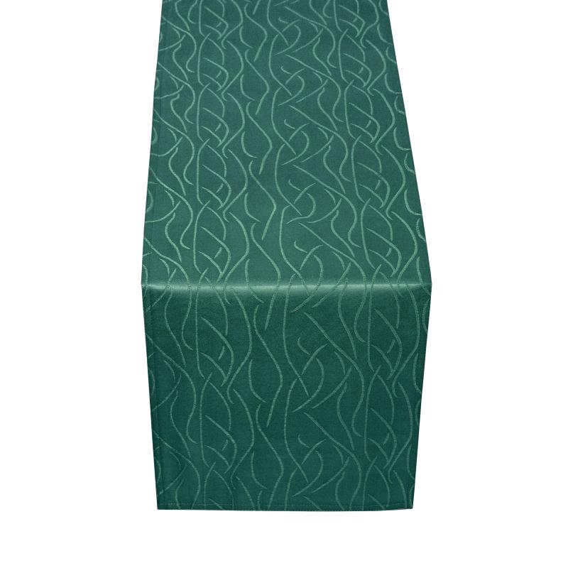 tischl ufer tischband streifen in dunkel gr n. Black Bedroom Furniture Sets. Home Design Ideas